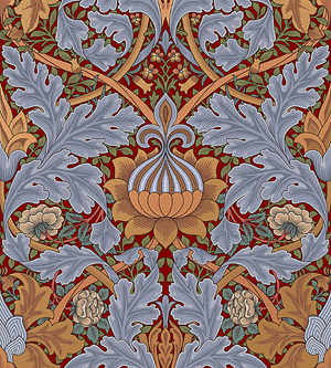 Bradbury & Bradbury | William Morris St. James Print