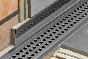 Schluter Systems | KERDI-LINE linear drain
