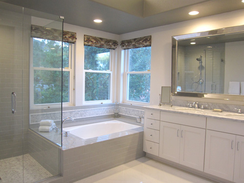 Before and After Pictures of a Recent Bathroom Remodel in Encino, CA