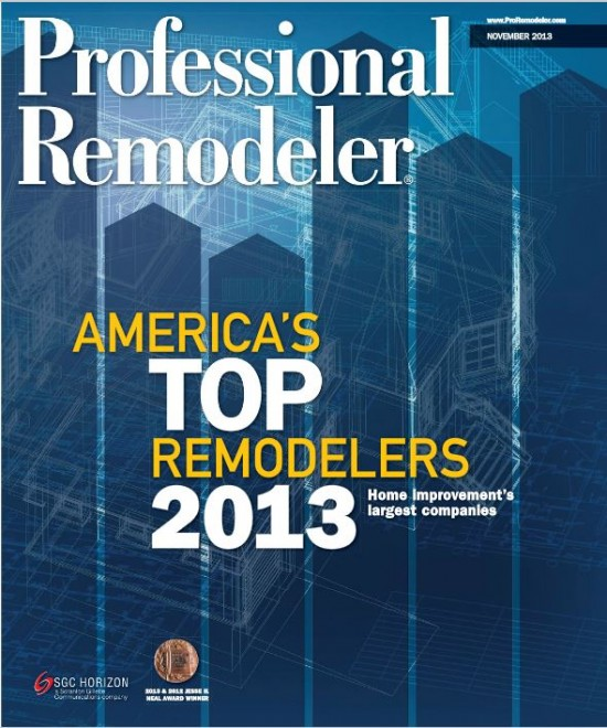 Professional Remodeler Magazine Cover