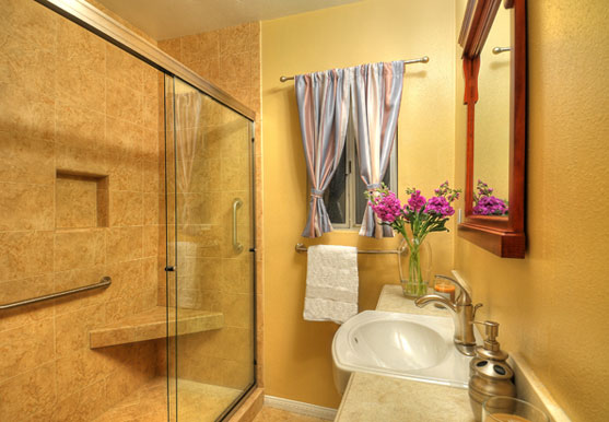 Remodeled bath safer for elderly parents