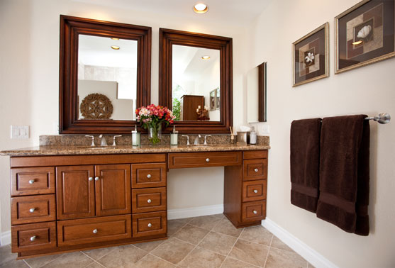 Bath design that addressed both their aesthetic and safety concerns