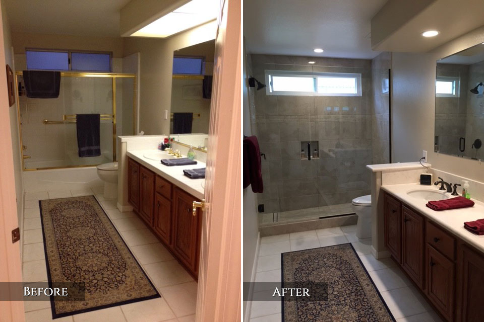 Thousand Oaks Bathroom Remodeling Job