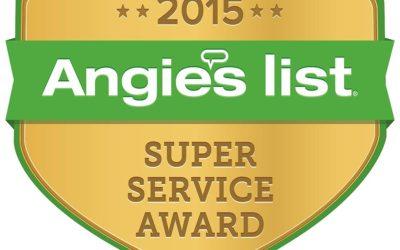 One Week Bath Wins Angie's List Award