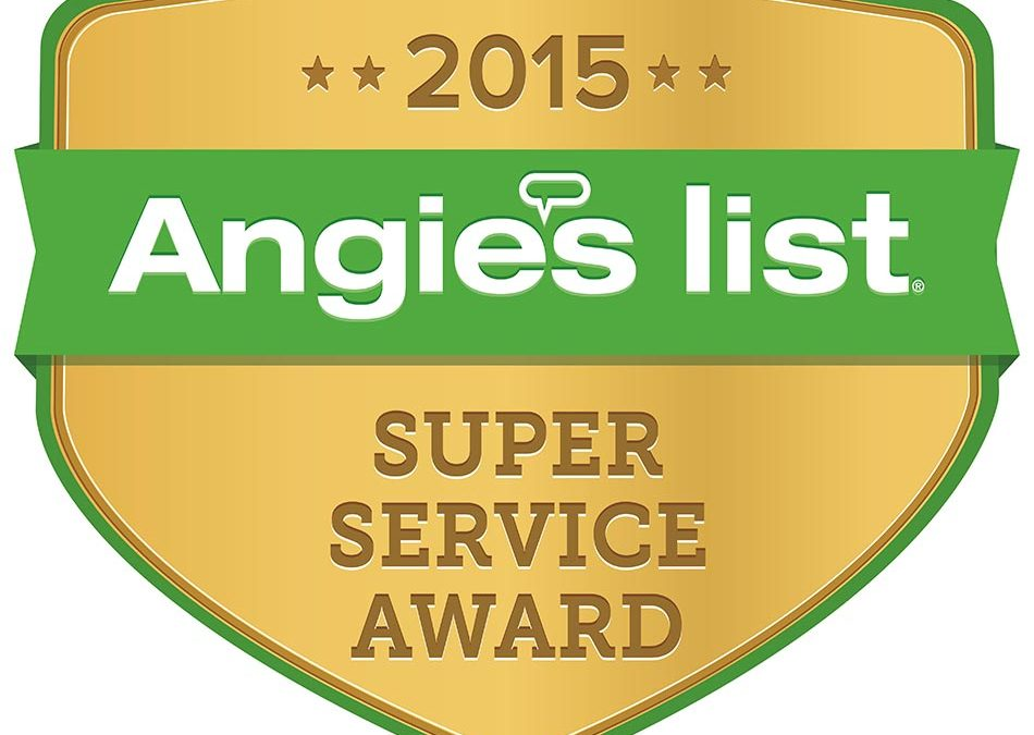 One Week Bath Wins Angie's List Award