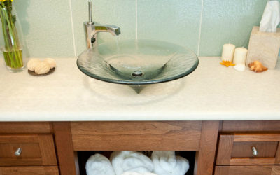 Four Elegant Glass Vessel Sinks