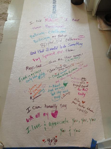 YoYo Bathroom Note