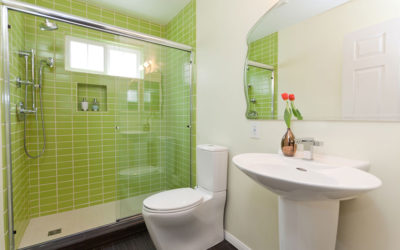 Four Pedestal Sinks in Four Very Different Bathrooms