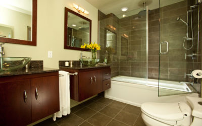 Transformation Tuesday: Adding a Contemporary Touch to this Master Bathroom