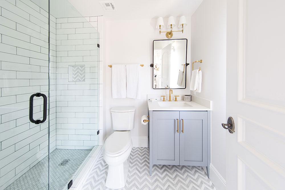 Featured Los Angeles Bathroom Remodel: The DeSilvas